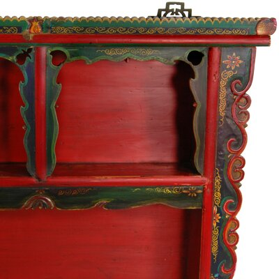 Oriental furniture wayfair for Hand painted oriental furniture