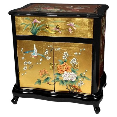 <strong>Oriental Furniture</strong> Asian End Table