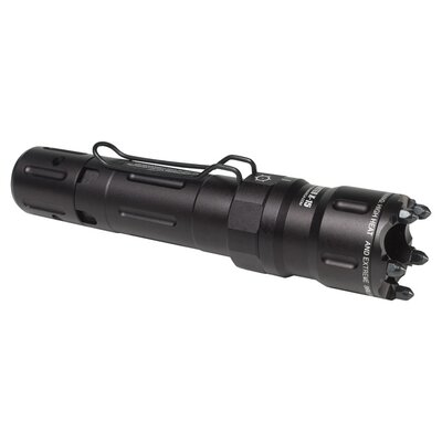 Rechargeable Tactical Light with Glass Breaker Bezel