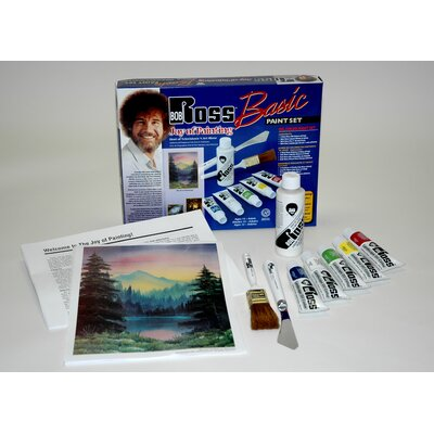 Weber Art BOB ROSS BASIC GET STARTED PAINT SET