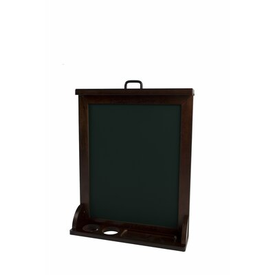 Little Partners Art Easel in Dark Cherry