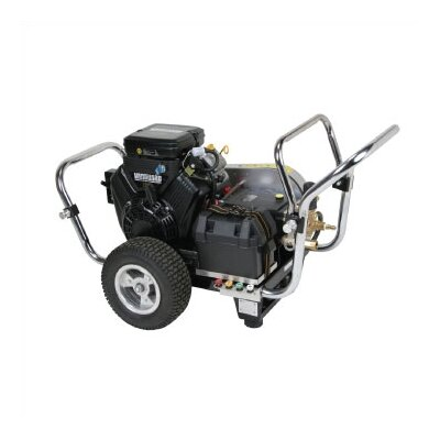 Water Shotgun 4000 PSI Cold Water Electric Start Gas Powered Pressure Washer w/ Vanguard Engine ...
