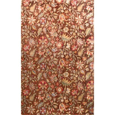 Bashian Rugs Chantilly Marguerite Chocolate Rug