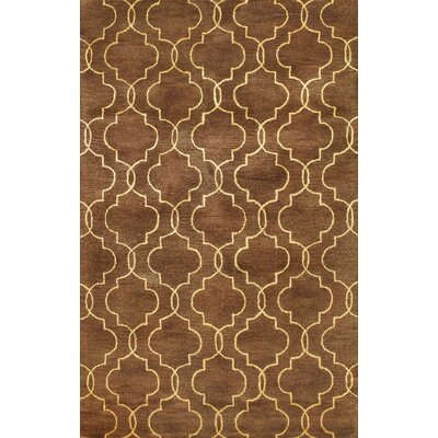 Bashian Rugs Greenwich Veil Chocolate Rug