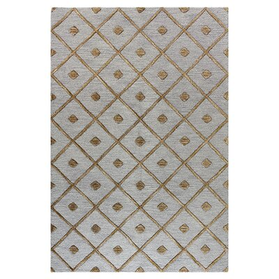 Bashian Rugs Verona Slate Diamond Lattice Rug