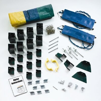 Swing-n-Slide Ready to Build Custom Alpine DIY Swing Set Hardware Kit - Project 612