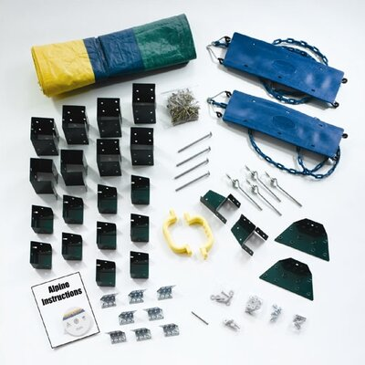 Swing-n-Slide Ready to Build Custom Alpine DIY Swing Set Hardware Kit - Project 611