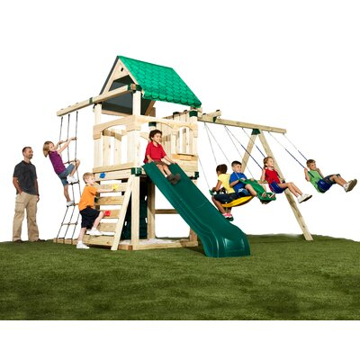 Swing-n-Slide Creekside No-Cut Swing Set