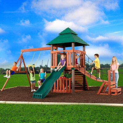 Sherwood Tower Swing Set