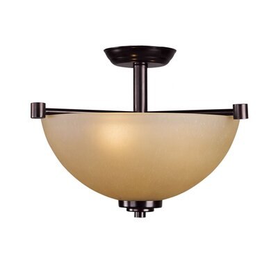 Woodbridge Lighting Ajo 2 Light Semi-Flush Mount