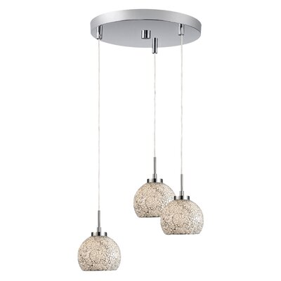 Woodbridge Lighting Ceiling Cluster 3 Light Mini Pendant