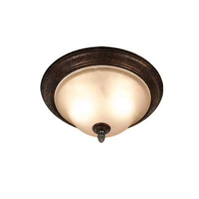 Woodbridge Lighting Rosedale 2 Light Flush Mount