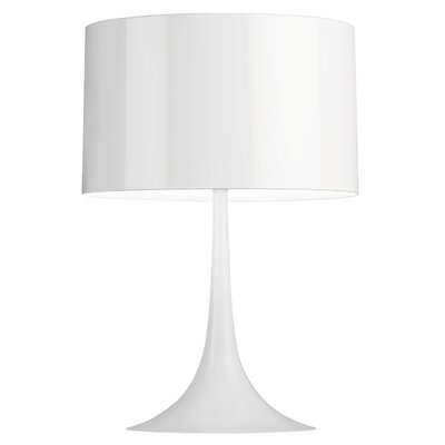 "FLOS Spun Light 26.77"" H Table Lamp with Drum Shade"
