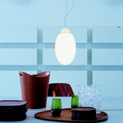 FLOS Brera Suspension Lamp in White