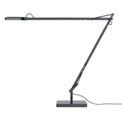 "FLOS Kelvin LED 21.85"" H Table Lamp Drum Shade"