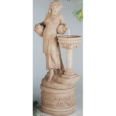 Henri Studio Figurine Cast Stone Angella Fountain