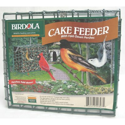 Birdola Products Large Cake Feeder Wild Bird Food