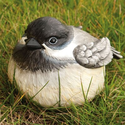 Evergreen Enterprises, Inc Medium Chickadee Portly Statue