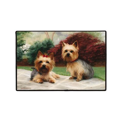 Yorkies Porch Doormat