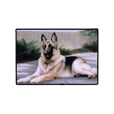 Fiddler's Elbow German Shepherd Porch Doormat