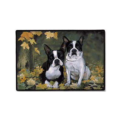Fiddler's Elbow Boston Terrier Porch Doormat