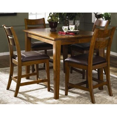 Klaussner Furniture Urban Craftsmen 5 Piece Counter Height Dining Set