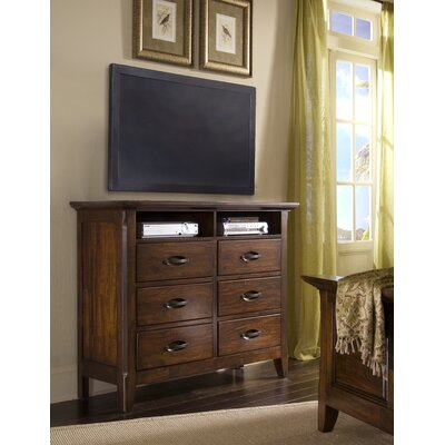 Klaussner Furniture Carturra 6 Drawer Dresser