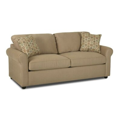 Klaussner Furniture Brighton Dreamquest Queen Sleeper Loveseat