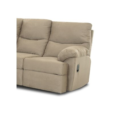 Bristol Wedge Right Arm Facing Reclining Loveseat