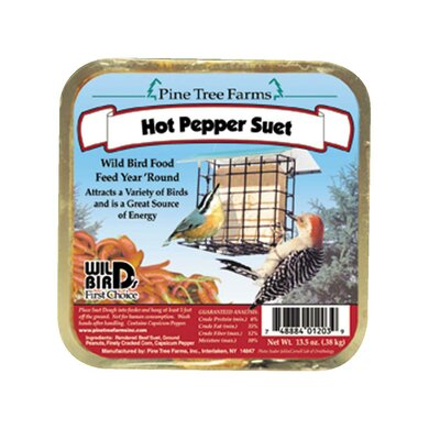 Pine Tree Farms Hot Pepper Never Melt Suet Cake