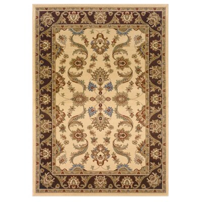 Adana Cream/Brown Persian Rug