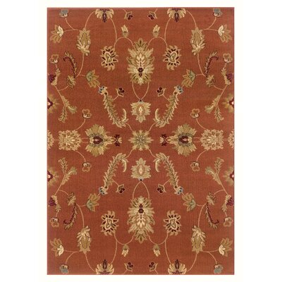 Adana Rust Traditional Design Rug