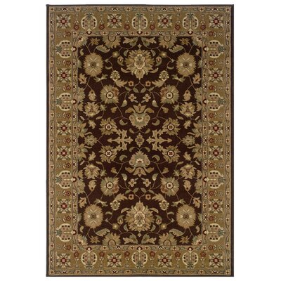 Adana Brown/Gold Persian Rug