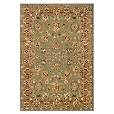 LR Resources Adana Green/Gold Persian Rug