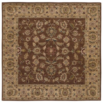 Shapes Brown/Gold Persian Rug