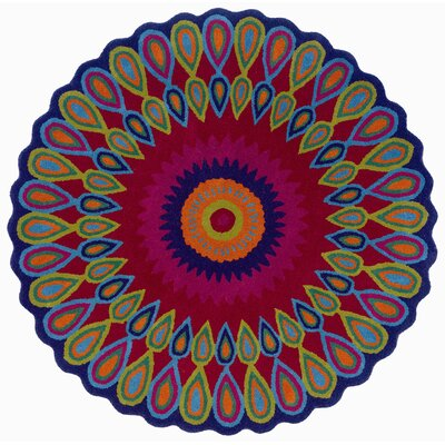 LR Resources Vibrance Multi-Colored Rug