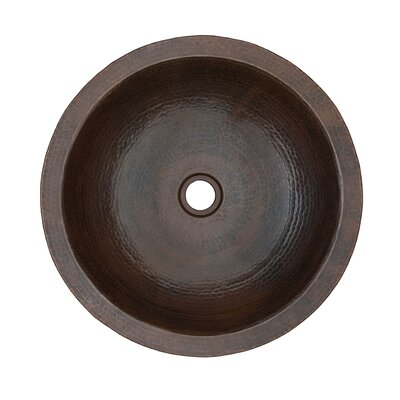 Thompson Traders Nest II Hand Hammered Copper Vessel Sink