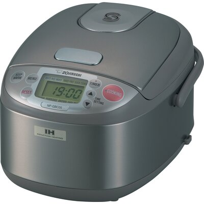 Zojirushi 3 Cup Rice Cooker / Warmer with Induction Heating System