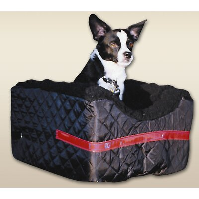 Snoozer Pet Products Rear Bike Pet Basket in Black