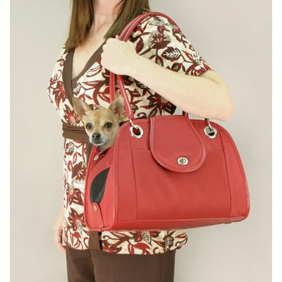 Snoozer Pet Products Small Open Tote Pet Carrier in Red
