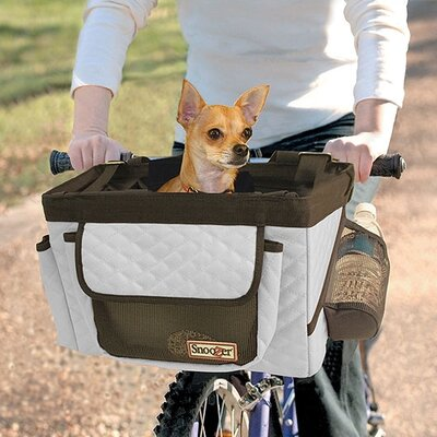 Snoozer Pet Products Buddy Front Bike Pet Basket