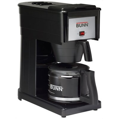 GRX-B (D) Basic 10-Cup Home Coffee Brewer in Black (High Altitude)