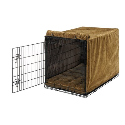 Bowsers Luxury Diam Microvelvet Dog Crate Cover