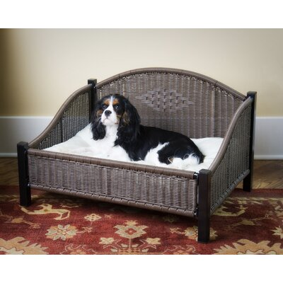 Mr. Herzher's Decorative Pet Bed in Dark Brown