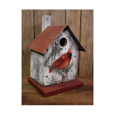 Adventure Marketing Cardinal Bird House