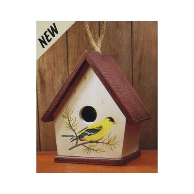 Adventure Marketing Goldfinch Bird House