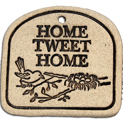 Home Tweet Home Garden Plaque