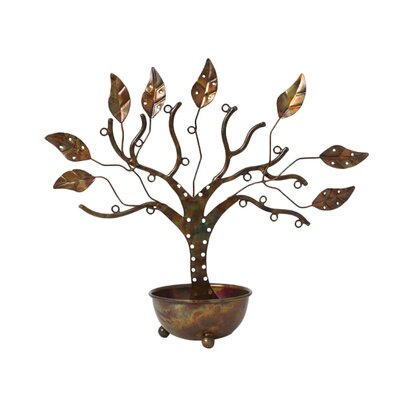 Large Jewelry Tree with Bowl