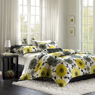Anthea Big Flower Comforter Set