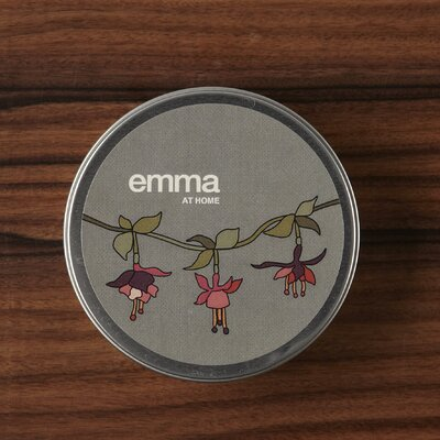 emma at home by Emma Gardner Belgian Berry Fuchsia Travel Jar Candle